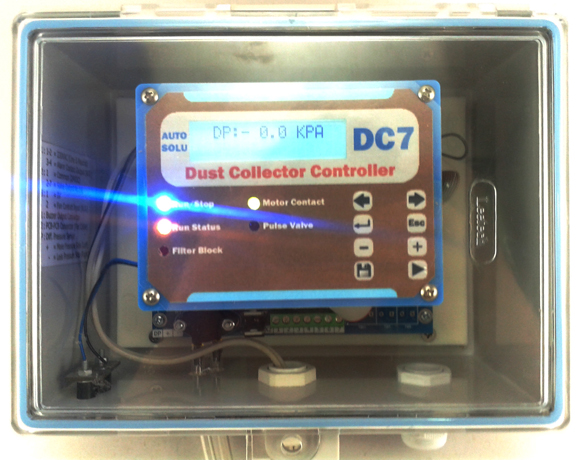 DC7 Dust Collector  Controller (Pulse Valve Type)